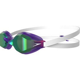 speedo Fastskin Speedsocket 2 Mirror Goggles white/violet/green